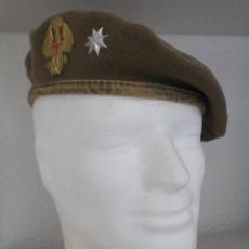 Militaria: BOINA EJÉRCITO ESPAÑOL ÚLTIMOS DE LOS 70, PRINCIPIOS DE LOS 80. Lote 110101499