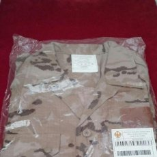 Militaria: CAMISOLA CAMPAÑA MANGAS CORTA ÁRIDA COMÚN MASCULINA EJERCITO DE TIERRA. 2011. Lote 110112339