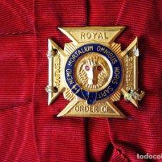 Militaria: BANDA MASÓNICA DE LA REAL ORDEN DEL BÚFALO ANTEDILUVIANO. GRAN BRETAÑA - COMMONWEALTH - EE.UU.. Lote 110352199
