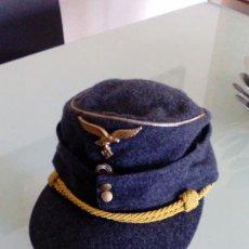 Militaria: PRECIOSA GORRA ALEMANA M43 DE GENERAL LUFTWAFFE TALLA 59 ,MUY DIFICIL DE CONSEGUIR. Lote 110785527