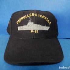 Militaria - Armada Española. Gorra tipo béisbol. Patrullero Toralla. P-81. - 110809043