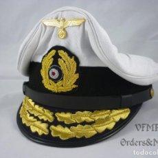 Militaria: GORRA DE ALMIRANTE DE LA KRIEGSMARINE. Lote 111432047