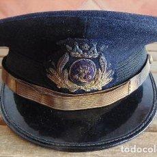 Militaria: GORRA DE PLATO MARINA DE GUERRA ESPAÑOLA CON GALLETA CUERPO JURÍDICO DE LA ARMADA. Lote 111447959