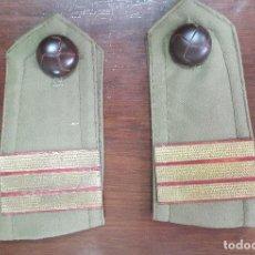 Militaria: HOMBRERAS DE SARGENTO. Lote 111564695