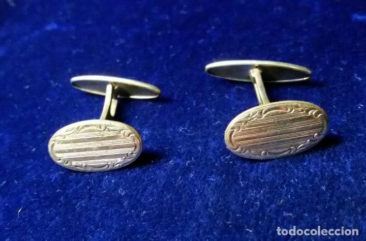 Militaria: antiguos gemelos dorados generalitat de catalunya - Foto 2 - 111737735