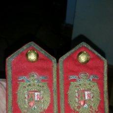 Militaria: ANTIGUOS PALAS U HOMBRERAS DE JERARCA DE FALANGE O DIPLOMATICO EPOCA FRANCISCO FRANCO. Lote 112598496