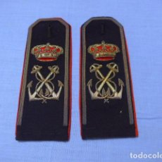 Militaria: * ANTIGUA PAREJA DE HOMBRERAS DE MARINA O ARMADA DE ALFONSO XIII. ORIGINALES. ZX. Lote 112602275
