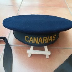 Militaria: GUERRA CIVIL ESPAÑOLA,ARMADA,CRUCERO CANARIAS,LEPANTO Y CINTA MARINERO ORIGINAL,FLECHA NAVAL FALANGE. Lote 112631523