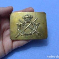 Militaria: * ANTIGUA HEBILLA DE INFANTERIA ALFONSINA, DE TROPA, ORIGINAL. ALFONSO XIII. ZX. Lote 112634767