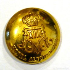 Militaria: BOTÓN HOTEL ALFONSO XIII 26 MM. Lote 113473479