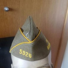 Militaria: GARRISON CAP. (GORRA CUARTELERA VETERANOS DE GUERRA US ARMY). USA MOSES LAKE WASHINGTON. VETERANS US. Lote 113487655
