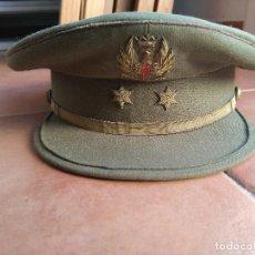 Militaria: GORRA PLATO MÁS HEBILLA. Lote 113487891