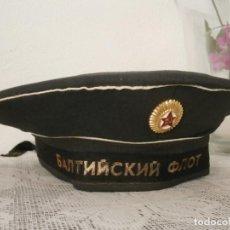 Militaria: GORRA ANTIGUA MILITAR TIPO LEPANTO BESKOZYRKA ARMADA MARINA DE GUERRA UNIÓN SOVIÉTICA URSS RUSIA. Lote 113496351