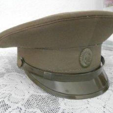 Militaria: ANTIGUA GORRA MILITAR DE TROPA DEL CUERPO DE INFANTERÍA DEL EJERCITO DE LA UNIÓN SOVIÉTICA URSS. Lote 113497547
