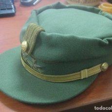 Militaria: LA GORRA TERESIANA DEL TENIENTE MILANS DEL BOSCH QUE UTILIZO EN FUERTEVENTURA EN EL AÑO 1976. Lote 172813760