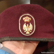 Militaria: BOINA REGIMIENTO DE INFANTERÍA INMEMORIAL DEL REY. Lote 113968887
