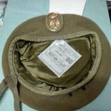 Militaria: BOINA CAQUI EJÉRCITO DE TIERRA TALLA 60. Lote 114392715