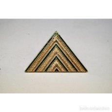 Militaria: GALÓN BOINA METÁLICO DE EMPLEO DE SARGENTO PRIMERO DEL EJÉRCITO DEL AIRE. Lote 238705435