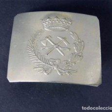 Militaria: ANTIGUA HEBILLA GUARDIA SERVICIO FORESTAL / EPOCA ALFONSO XIII / ESPAÑA. Lote 115220831