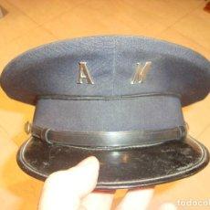 Militaria: GORRA DE ALGUACIL MUNICIPAL. Lote 115296271
