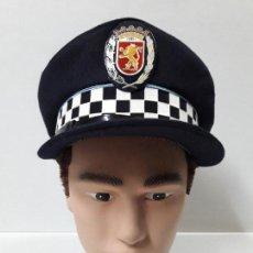 Militaria: GORRA ORIGINAL DE LA POLICIA LOCAL ZARAGOZA . CONFECCIONES NAVARRO S.A.. Lote 115321007