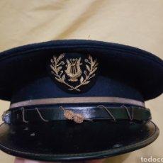 Militaria: ANTIGUA GORRA PLATO MUSICO. Lote 115457636
