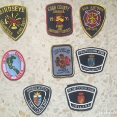 Militaria: PARCHES DE BOMBEROS AMERICANOS. Lote 115475650