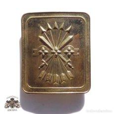 Militaria: HEBILLA GUARDIA DE FRANCO. Lote 115596363