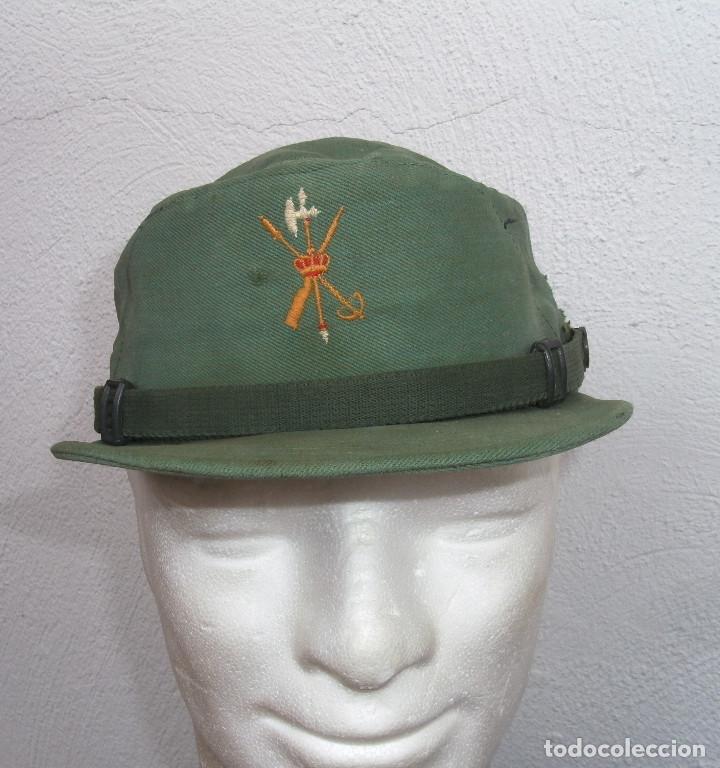 Militaria: GORRA FAENA SARGA LEGIÓN. GORRILLA TERCIO. GORRA LEGIONARIA. TALLA MEDIANA - Foto 2 - 120664192