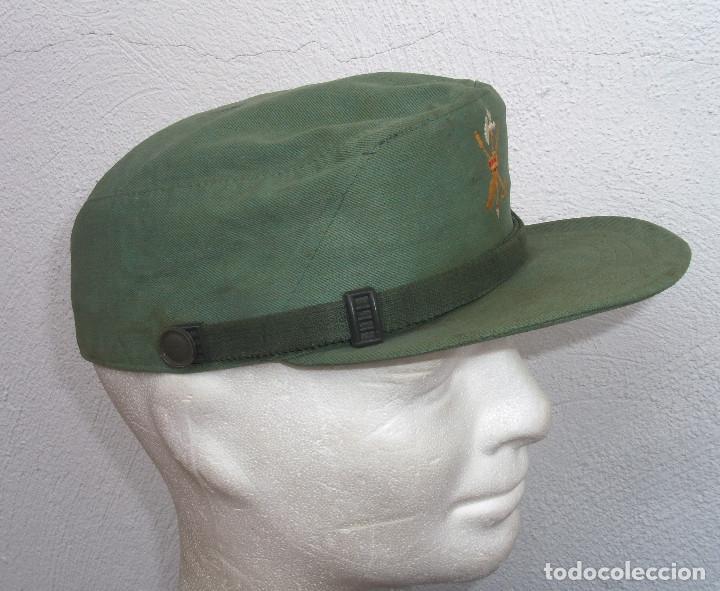 Militaria: GORRA FAENA SARGA LEGIÓN. GORRILLA TERCIO. GORRA LEGIONARIA. TALLA MEDIANA - Foto 3 - 120664192