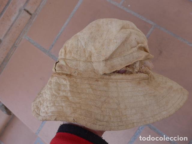 Militaria: * Antiguo chambergo de guerra de africa y guerra civil, original. A recoser. ZX - Foto 3 - 116209023