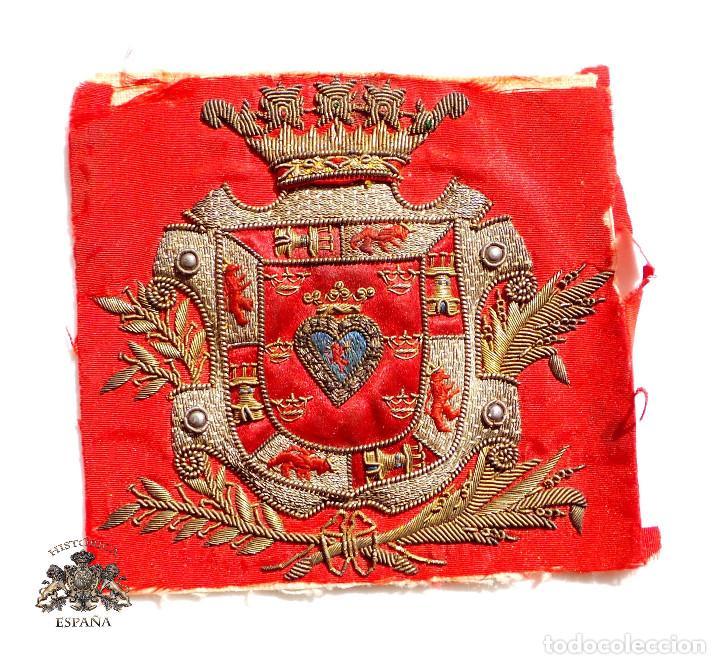 ESCUDO DE FAJÍN DE ALCALDE DEL AYUNTAMIENTO DE MURCIA (Militar - Otros relacionados con uniformes )