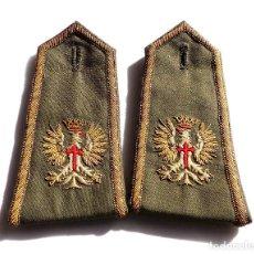 Militaria: PAREJA DE CHAQUETERAS BORDADAS. Lote 116840527