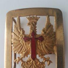 Militaria: HEBILLA MILITAR EPOCA DE FRANCO. TRAJE DE GALA. Lote 116884388