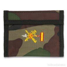 Militaria: ESTUPENDA CARTERA BORDADA DE CAMUFLAJE DE LA LEGION ESPAÑOLA. Lote 117401835