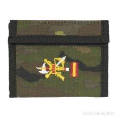 Militaria: ESTUPENDA CARTERA BORDADA DE LA LEGION ESPAÑOLA PIXELADO BOSCOSO. Lote 117402003