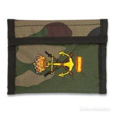 Militaria: ESTUPENDA CARTERA BORDADA DE INFANTERIA DE MARINA. Lote 117402267