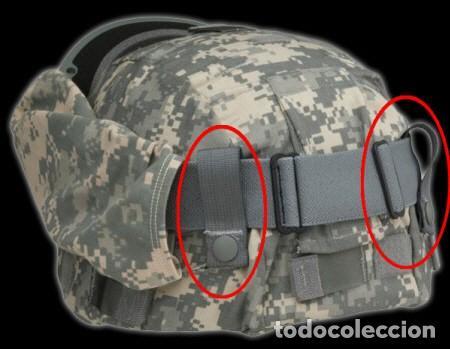 2a189a99623 Militaria: Fijación gafas casco militar Accesorios para cascos - Foto 4 -  117582059