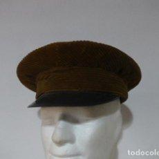Militaria: ANTIGUA GORRA DE PANA DE TRANVIA Y AUTOBUS DE BARCELONA. AÑOS 40-50. IDEAL RECREACION GUERRA CIVIL. . Lote 117665759