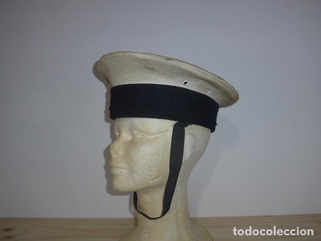 ANTIGUA GORRA LEPANTO ESPAÑOLA DE MARINA, ARMADA. (Militar - Boinas y Gorras )