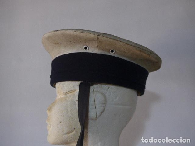 Militaria: Antigua gorra lepanto española de marina, armada. - Foto 3 - 117666475