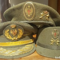 Militaria: LOTE PRENDAS CABEZA DE GENERAL DE DIVISION. Lote 117674491