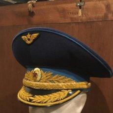Militaria: GORRA GENERAL RUSO FUERZA AÉREA EPOCA URSS. Lote 117779871