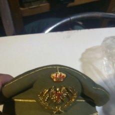 Militaria: GORRA DE PLATO PARA OFICIAL DEL EJÉRCITO DE TIERRA TALLA 55 NUEVA A ESTRENAR. Lote 118236688
