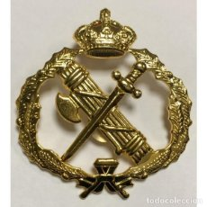 Militaria: EMBLEMA PARA BOINA DE LA GUARDIA CIVIL SUBOFICIALES ACTUAL. Lote 118314215