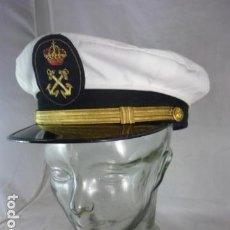 Militaria: GORRA OFICIAL ARMADA ESPAÑOLA - GUARDAMARINA - GORRAS EVANGELINA VALENCIA - AÑOS 70-80. Lote 118488275