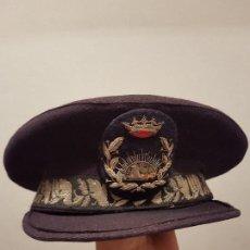 Militaria: ANTIGUA GORRA DE PLATO. INGENIEROS SALAMANCA?. Lote 118633303
