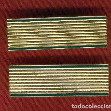 Militaria: LOTE DE 10 GALONES METÁLICOS HOMBRERAS CABO I MONTAÑA. Lote 119180527