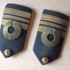 Militaria: HOMBRERAS O PALAS CAPITAN DE CORBETA MARINA. Lote 119225611