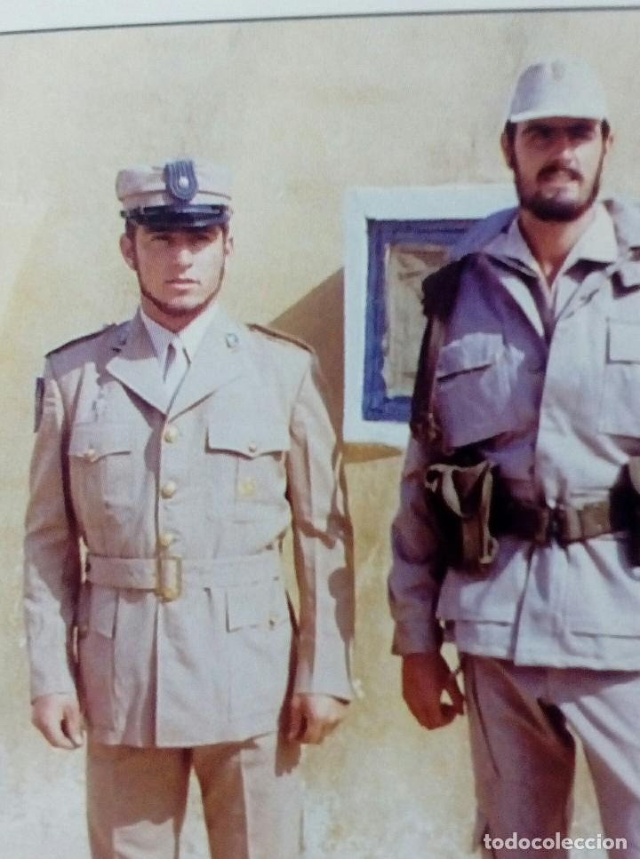 Militaria: TERESIANA ATN. GORRA TROPAS NÓMADAS DEL SÁHARA TALLA MUY GRANDE 60, MUY BUEN ESTADO. - Foto 7 - 145319120
